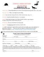 Coryell Creek Critters 5K