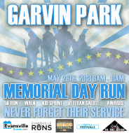 Evansville Memorial Day Run 5K/10K and Salute