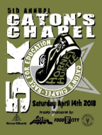 5th Annual Catons Chapel Hornet Hustle 5K