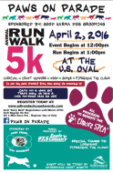 Paws on Parade 5k Fun Run