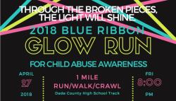 Blue Ribbon Glow Run
