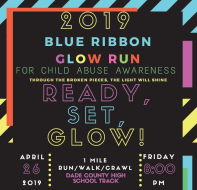Blue Ribbon Glow Run