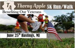 Thorny Apple 5K Run/Walk Benefiting Veterans