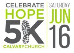 Celebrate Hope 5k Walk/Run