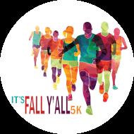 It's Fall Y'all 5k (& K9 Canter 1 Mile Fun Run) Logo
