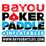 Bayou Poker Paddle - ONLINE REGISTRATION CLOSED Register in Person at Gill Dawgs 9am-11am Saturday