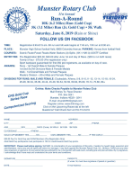 Munster Rotary Run A Round