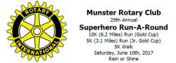 Munster Rotary Run-A-Round
