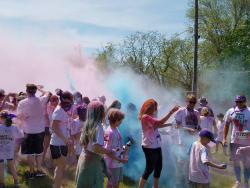 LIFELINX / DAY   5 K  NICK KRUCZEK COLOR RUN/WALK FOR RECOVERY