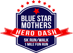 Blue Star Mothers Hero Dash