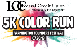 Farmington Founders Festival LOC Color Run