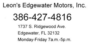 Leon's Edgewater Motors, Inc