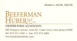 Beeferman Huber LLC Certified Public Accountants