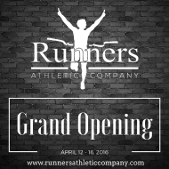 Runners Athletic Co. - Saginaw Grand Opening Events