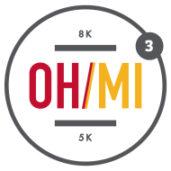 Ohio Michigan 8k/5k