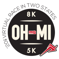 DAVE'S VIRTUAL OHIO-MICHIGAN 8K & 5K