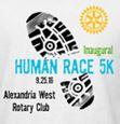 "Alexandria West Rotary Club ""Human Race 5K"""