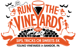 Run the Vineyards - Sips, Tricks or Sweets 5K