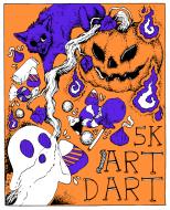 Art Dart  VI: Costume 5k Walk/Run