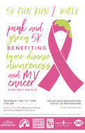 3rd Annual Pink & Green 5k - Benefiting MV Cancer Support Group and Lyme Disease Awareness