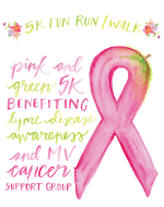 2nd Annual Pink & Green 5k - Benefiting MV Cancer Support Group and Lyme Disease Awareness