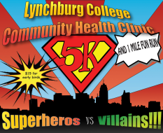Lynchburg College Community Health Clinic 5k