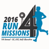 Run For Missions 5K, 10K, Half-Marathon (7th Annual)