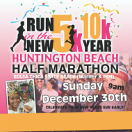 Run In The New Year 5k/10K/Half Marathon