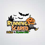 Running Scared 5 Miler & Monster Mile Logo