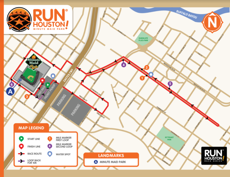 Minute Maid Park Map Run Houston! Minute Maid Park: Course