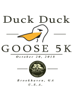 2018 Brookhaven Duck Duck Goose 5K and 1-Mile Fun Run