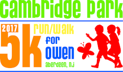 Cambridge Park 5k for Owen