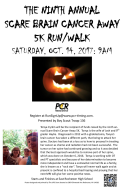 9th Annual Scare Brain Cancer Away 5K