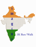 Imagine India 5k Race/Walk