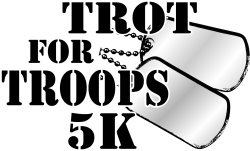 Trot for Troops 5K and Kids 1/4