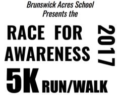 Brunswick Acres School Race for Awareness