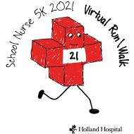 2021 School Nurse 5K VIRTUAL Run/Walk