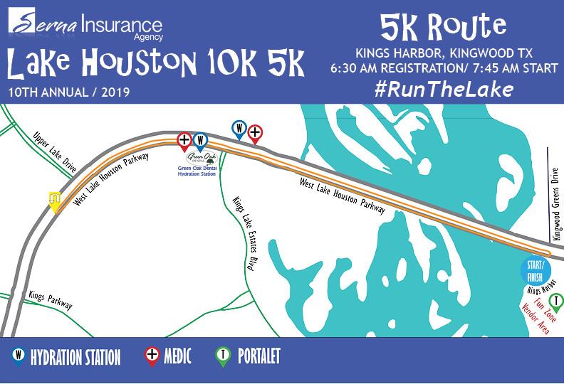 Lake Houston 10k 5k Presented by Serna Insurance Agency + ...