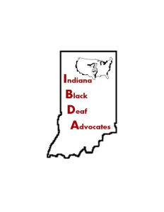 Indiana Chapter of Black Deaf Advocates