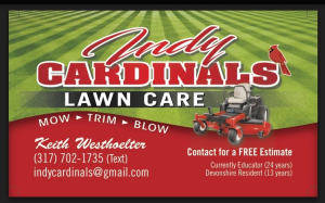 Indy Cardinals Lawn Care