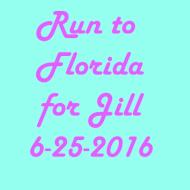 Run to Florida for Jill