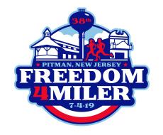 Pitman Freedom Four Miler Run