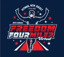 Pitman Freedom Four Miler Run