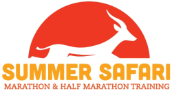 Summer Safari Half Marathon and Full Marathon Training Program 2017