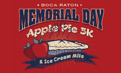 Memorial Day Apple Pie 5K & Ice Cream Mile Boca Raton