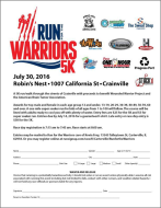 Run for the Warriors