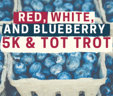Liberty Eagle's Red, White, & Blueberry Trail 5K/Tot Trot and Blueberry Pick
