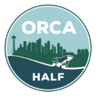 Orca Half Marathon (Saturday and Sunday)