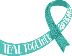 20th Annual Teal Ribbon Run/Walk TEAL TOGETHER 20 YEARS