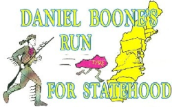 Daniel Boone Run for Statehood